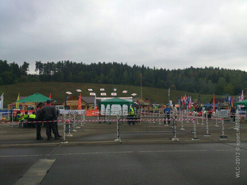 Чемпионат мира 2012 среди вальщиков леса. Утро 25-го августа.