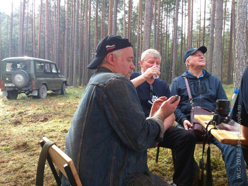 Игорь Черский в белорусском лесу