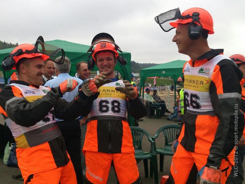 Россия выиграла эстафету с результатом 1257
